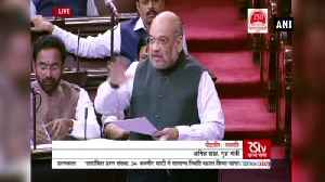 Nobody died by police firing in JK after Article 370's abrogation Amit Shah [Video]