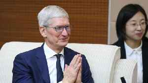 News video: Apple CEO Tim Cook Talks About Internet Privacy