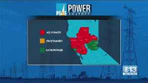 News video: PG&E Power Shutoff Latest