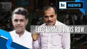 News video: Ruckus in Lok Sabha as Congress MPs attack Modi govt over electoral bonds