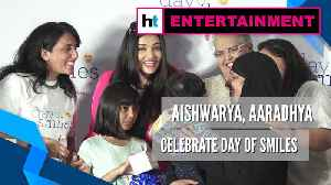Aishwarya celebrates her father's birth anniversary with Aaradhya as day of smiles [Video]