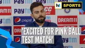News video: 'Fielding session with the pink ball was biggest challenge': Virat Kohli