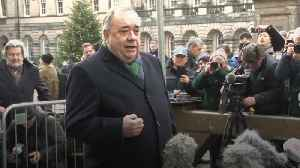 Alex Salmond pleads not guilty to attempted rape during independence campaign [Video]