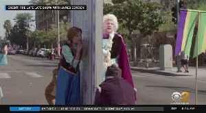 James Corden, Frozen Cast Do 'Crosswalk The Musical' [Video]