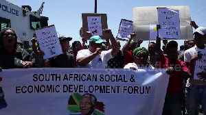 Workers protest closure of ArcelorMittal plant in South Africa [Video]