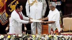 Sri Lankan President Gotabaya Rajapaksa swears in brother as PM [Video]