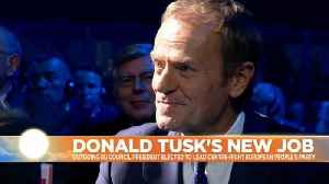 Donald Tusk lands new job as EPP president with pledge to fight populism [Video]