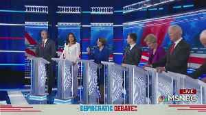 Dems Spar At Debate Over Health Care, How To Beat President Trump [Video]