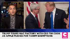 Trump Says Apple Might Get Tariff Exemptions [Video]