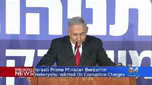 Israeli Prime Minister Indicted [Video]