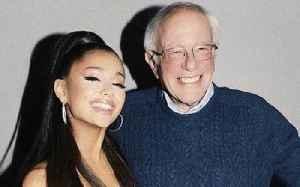Ariana Grande Shares Heartfelt Moment With Bernie Sanders [Video]