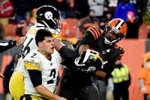 Mason Rudolph Forgives Myles Garrett for Helmet Incident [Video]
