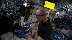 Testing times for the human guinea pigs on ISS [Video]