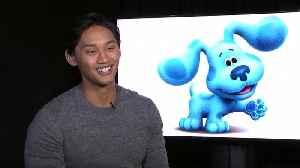Joshua Dela Cruz Talks 'Blue's Clues' Reboot [Video]