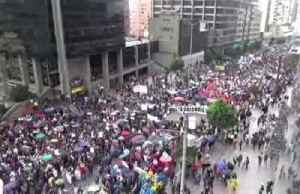 Colombians across the country protest Duque gov't. [Video]