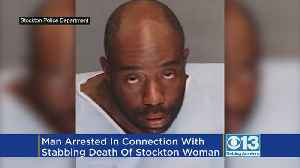 Man, 34, Arrested In Connection With Stabbing Death Of Stockton Woman [Video]