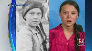 Trending Now: Greta Thunberg A Time Traveler? [Video]