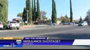 Shortage in ambulances impact people living in Glenn County [Video]