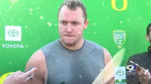 Web Extra: Drayton Carlberg on late season push, ASU game (11/20/19) [Video]