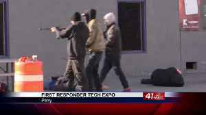 Operation Convergent Response shows first responders latest technology [Video]