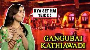Alia Bhatt's EPIC REACTION On Gangubai Kathiawadi Sets By Sanjay Leela Bhansali [Video]