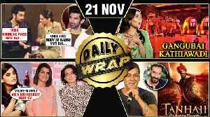 Alia Ranbir Nagarjuna Brahmastra, Salman On Tanhaji Trailer, Taapsee Insults Kangana | Top 10 News [Video]