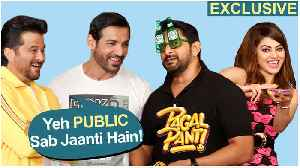 The Most EPIC PAGALPANTI Team Interview | Anil, John, Arshad, Urvashi, Kriti, Pulkit | EXCLUSIVE [Video]