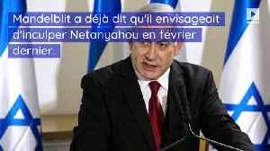 Le Premier ministre israélien Benjamin Netanyahu inculpé de corruption [Video]