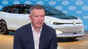 Volkswagen ID. SPACE Vizzion Concept - Interview Hein Schafer, Volkswagen Senior VP, Product Marketing & Strategy [Video]