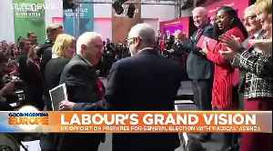 UK's opposition Labour Party puts Brexit on backburner in party's General Election manifesto
