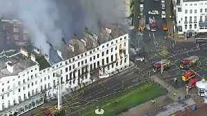 Eastbourne's Claremont Hotel ravaged by fire [Video]