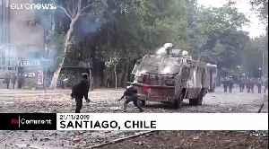 Protests continue in Santiago despite reforms proposals [Video]