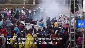 Latin America protest wave crashes into Colombia [Video]