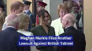 Meghan Markle's New Lawsuit