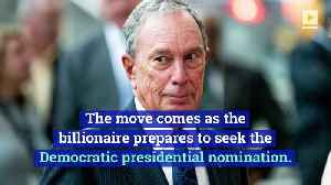UPDATE: Michael Bloomberg Buying at Least $31 Million in TV Ads to Prepare for 2020 Presidential Run [Video]