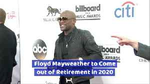 Floyd Mayweather Back In The Ring [Video]