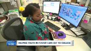 Local mentoring program helps youths in foster care prepare for college [Video]