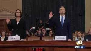 Fiery testimony in impeachment inquiry [Video]