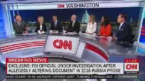 Former FBI lawyer allegedly altering document in 2016 Russia probe [Video]