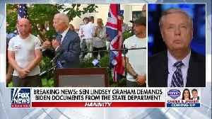 News video: Graham Launches Senate Probe into Bidens' Burisma Actions