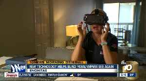 New technology helping blind paralympian regain her sight [Video]