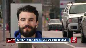 Country singer Sam Hunt charged with DUI; accused of driving wrong way down Nashville road [Video]