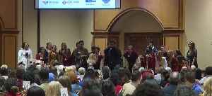 Students attend Mayors' Breakfast [Video]