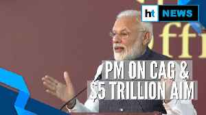 PM Modi highlights CAG role in plan to make India $5 trillion economy [Video]
