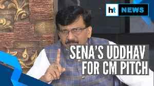 'People of Maharashtra want Uddhav Thackeray to be CM': Sanjay Raut [Video]