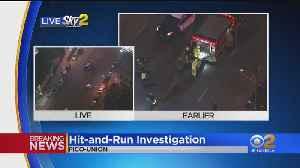 Pedestrian Critically Injured In Hit-And-Run Near MacArthur Park [Video]