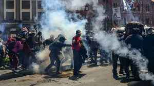 Bolivia unrest: Police disperse funeral protest with tear gas [Video]