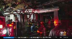 3 Killed In Abandoned House Fire [Video]
