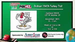 Around Town Kids - YMCA Turkey Trot - 11/22/19 [Video]