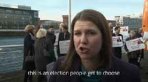 Jo Swinson reminds voters there is an alternative to Boris Johnson and Jeremy Corbyn [Video]